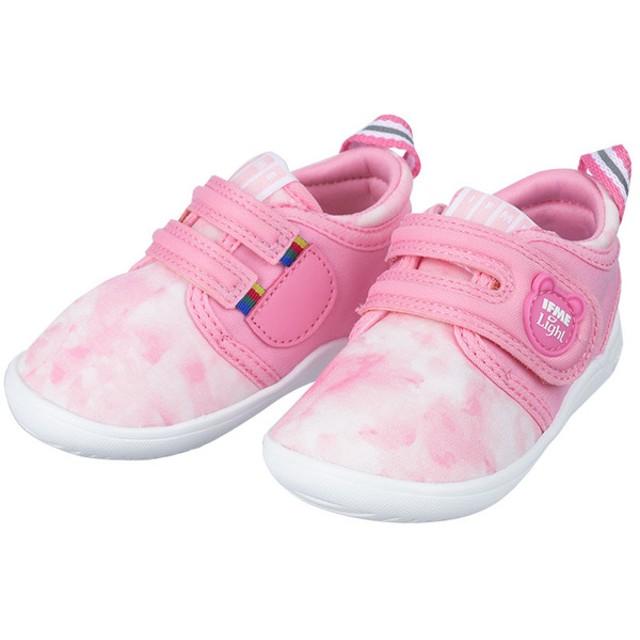 [12.5~14.5cm]FME(イフミー) ライト ベビーシューズ ピンク シューズ・ファッション小物 ベビーシューズ(~14.5cm) (85)