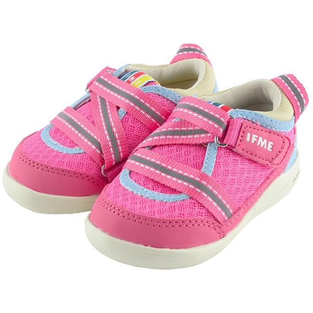[12.5~14.5cm]IFME(イフミー) ライト ベビーシューズ ピンク シューズ・ファッション小物 ベビーシューズ(~14.5cm) (85)