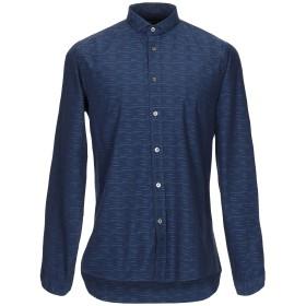 《期間限定セール開催中!》COMMUNE DE PARIS 1871 メンズ シャツ ダークブルー XS コットン 100%