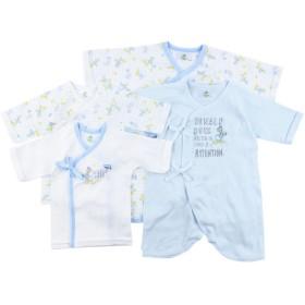 新生児肌着4点セット ドナルド インナー・パジャマ 新生児・乳児(50~80cm) 新生児肌着セット (51)