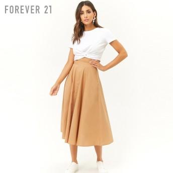 FOREVER21 CONTEMPORARY ハイウエストミディスカート