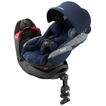 [シートベルト取付x回転式]アップリカ フラディアグロウAC ネイビーオーシャン チャイルドシート ベビーカー・チャイルドシート・抱っこ紐 チャイルドシート・カー用品 チャイルドシート