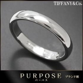 ティファニー クラシック バンド 10号 リング PT950 幅3mm TIFFANY&Co. プラチナ 指輪
