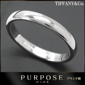 ティファニー クラシック バンド 16.5号 リング PT950 幅3mm TIFFANY&Co. プラチナ ルシダ 指輪