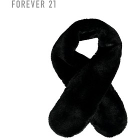 FOREVER21 フォーエバー21 【フェイクファーマフラー】(5,000円以上購入で送料無料)