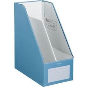 (まとめ)コクヨファイルボックスS(ワイドタイプ) A4タテ 背幅150mm 青 フ-EW450B 1冊 【×10セット】