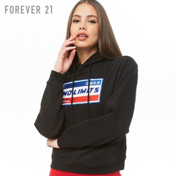 FOREVER21 No Limitsパッチパーカー