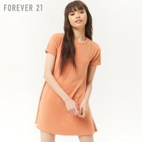 FOREVER21 フォーエバー21 フェードウォッシュAラインTシャツワンピース