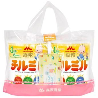森永 フォローアップミルク チルミル 大缶 2缶パック 食品 ミルク・粉ミルク フォローアップミルク (28)
