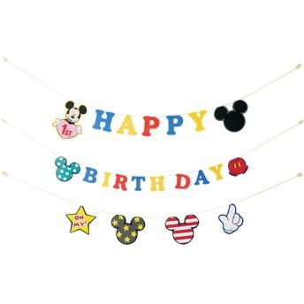 ペーパーフラッグセット ミッキー お祝いイベント メモリアル・パーティグッズ パーティーグッズ (89)
