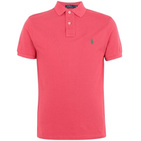 《セール開催中》POLO RALPH LAUREN メンズ ポロシャツ コーラル XS コットン 100% Slim Fit Polo