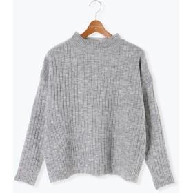 ニット・セーター - Lugnoncure ワイドリブプルオーバー