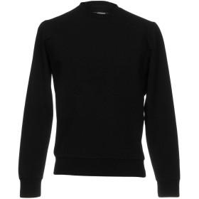 《期間限定 セール開催中》PLEIN SPORT メンズ スウェットシャツ ブラック XL コットン 95% / ポリウレタン 5%