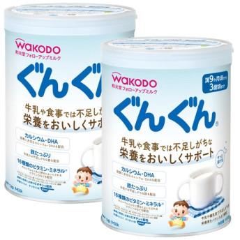 和光堂 フォローアップミルク ぐんぐん 2缶パック (景品付き) 食品 ミルク・粉ミルク フォローアップミルク (28)