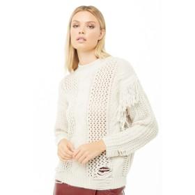 ニット・セーター - FOREVER 21 【WOMEN】 フリンジハイネックセーター