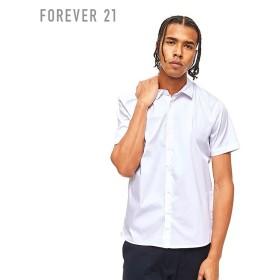 FOREVER21 フォーエバー21 【[MEN]サイドスリットポプリンシャツ】(5,000円以上購入で送料無料)