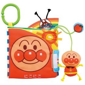 ベビラボ アンパンマン しかけい~っぱい布えほん おもちゃ おもちゃ・遊具・三輪車 ベビートイ (233)
