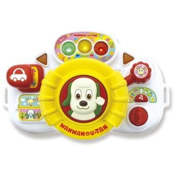 ジョイパレット ワンワンとおでかけ しんごうピカピカハンドル おもちゃ おもちゃ・遊具・三輪車 ベビートイ (235)