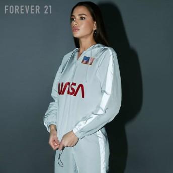 FOREVER21 フォーエバー21 【NASAリフレクターウィンドブレーカー】(5,000円以上購入で送料無料)