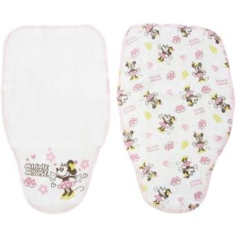 新生児 汗取りパッド2枚組 ミニーマウス インナー・パジャマ 新生児・乳児(50~80cm) 汗取りパッド (18)