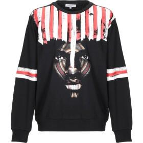 《送料無料》LES BENJAMINS メンズ スウェットシャツ ブラック L コットン 100% / ポリウレタン