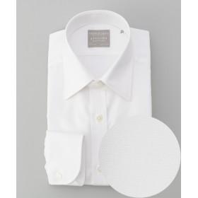 【オンワード】 gotairiku(ゴタイリク) 【形態安定】【SLIMFIT】PREMIUMPLEATS ドレスシャツ ホワイト 14H(37-84) メンズ 【送料無料】