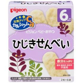 ピジョン 元気アップCa ひじきせんべい 食品 おやつ(お菓子) 6・7ヵ月~のおやつ (55)