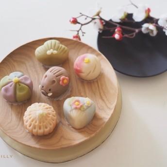 卵乳小麦不使用 無添加上生菓子 練り切り製【2019】こし餡6点詰め合わせ
