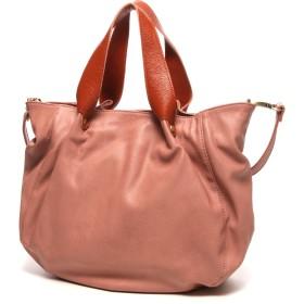フェス fes KUPU-KUPU Bag in Bag仕様3wayハンドバック(ピンク)