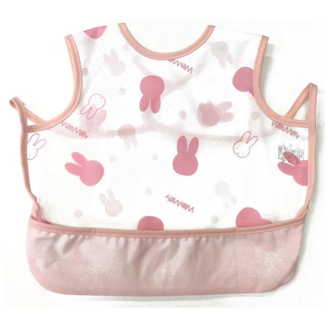 袖なしエプロン ミッフィー ピンク 育児用品 お食事用品 エプロン (99)