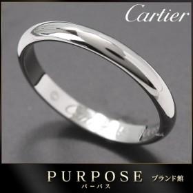 カルティエ Cartier クラシック バンド #51 リング 幅2.5mm PT950 プラチナ 指輪 1895 【証明書付き】