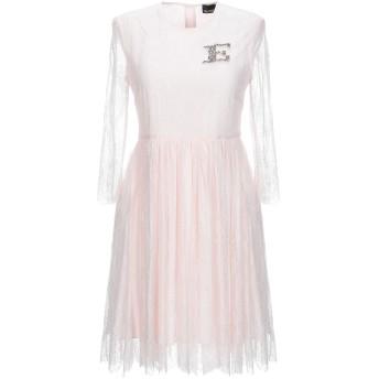 《セール開催中》ERMANNO DI ERMANNO SCERVINO レディース ミニワンピース&ドレス ピンク 40 ナイロン 100%