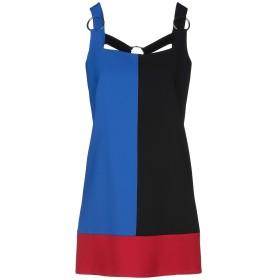《期間限定セール開催中!》FAUSTO PUGLISI レディース ミニワンピース&ドレス ブルー 40 レーヨン 94% / テンセル 6%