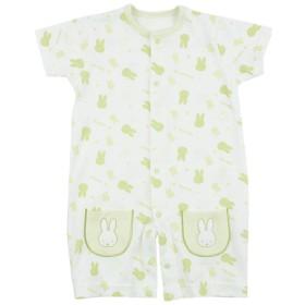 新生児 半袖プレオール ウィズミッフィー ペパーミント ベビー・キッズウェア 新生児・乳児(50~80cm) カバーオール・ロンパース (174)