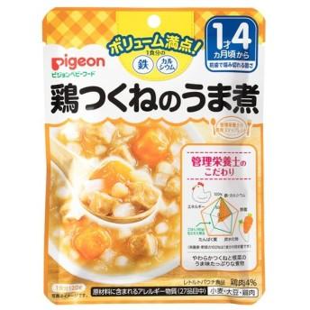 キッズ ベビー ピジョン 食育レシピ ボリューム満点!鉄Ca 鶏つくねのうま煮 食品 ベビーフード・キッズフード 1歳4ヵ月~フード (29)