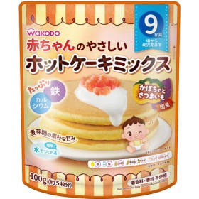 赤ちゃんのやさしいホットケーキミックス かぼちゃとさつまいも 食品 おやつ(お菓子) 9ヵ月~のおやつ (32)