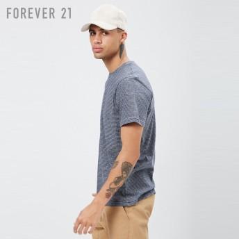FOREVER21 フォーエバー21 【[MEN]マールドストライプTシャツ】(5,000円以上購入で送料無料)