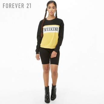 FOREVER21 フォーエバー21 【Weekendカラーブロックトップ】(5,000円以上購入で送料無料)
