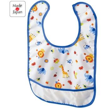 油汚れにも強い 速く乾くエプロン ブルー 育児用品 お食事用品 エプロン (99)