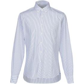 《セール開催中》CELLINI メンズ シャツ ブルー 41 コットン 100%