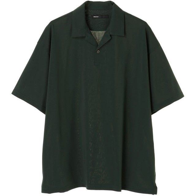 08sircus High gauge jersey polo shirt ポロシャツ,グリーン