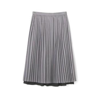 ◆リバーシブルスカート グレー×ブラック