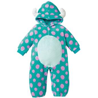 新生児 着ぐるみカバーオール サリー ベビー・キッズウェア 新生児・乳児(50~80cm) カバーオール・ロンパース (146)