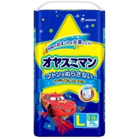オヤスミマン 男の子 L 30枚 おむつ・おしりふき・トイレ おまる・トイレトレーニング トレーニングパンツ(トレパン) (44)
