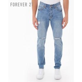 FOREVER21 フォーエバー21 【[MEN]ダメージジーンズ】(5,000円以上購入で送料無料)
