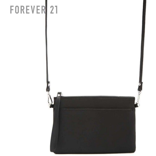 FOREVER21 フォーエバー21 【フェイクレザーショルダーバッグ】(5,000円以上購入で送料無料)