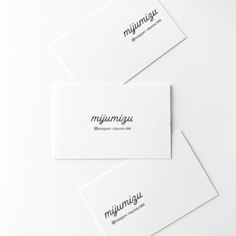 名前が入れられる作品台紙3(台紙75枚分) デザイン ピアス台紙 ブローチ台紙 シンプル 名入れ