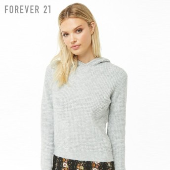FOREVER21 ワッフルパーカー