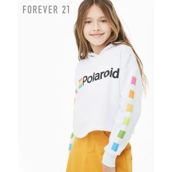 FOREVER21 フォーエバー21 【[KIDS]Polaroidパーカー】(5,000円以上購入で送料無料)