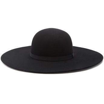 ハット - FOREVER 21 【WOMEN】 【ウールフロッピーハット】 帽子 黒 ブラック